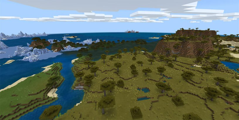 Tons of Biomes Close Together Seed Image