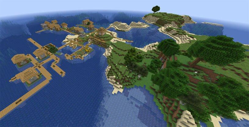 Village Island Seed for Java Image