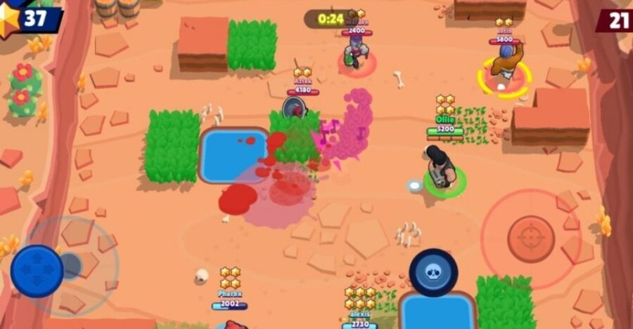 Heist mode in Brawl Stars
