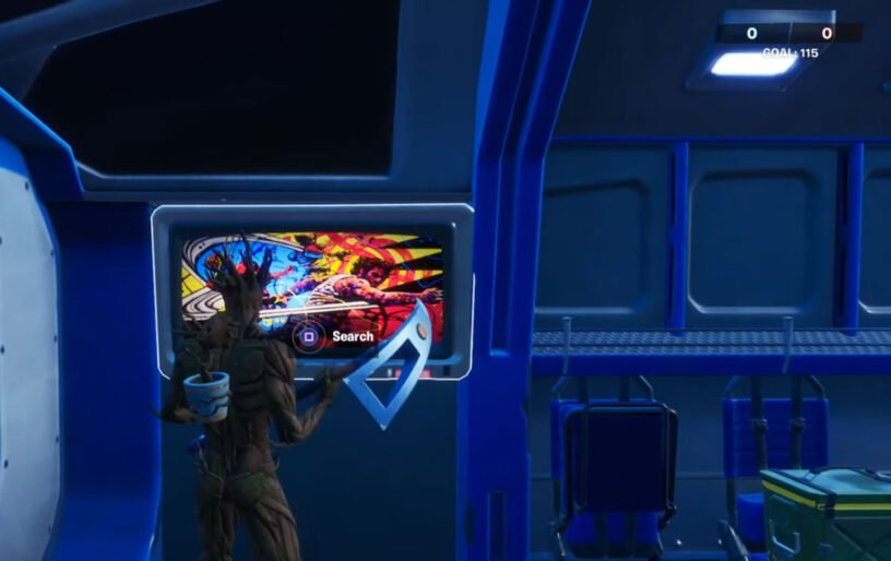 Quinjet loading screen in game