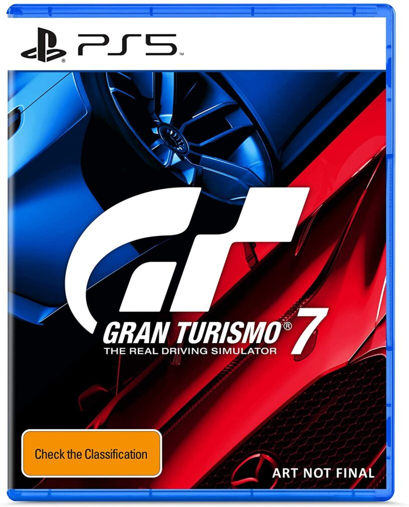 A box art placeholder for PlayStation 5 game Gran Turismo 7