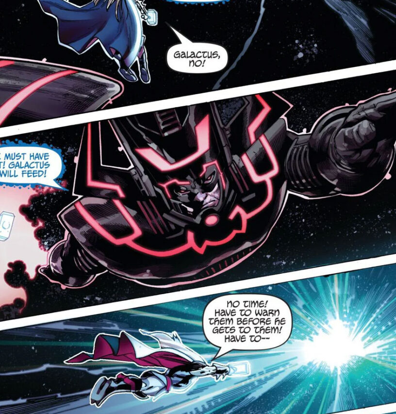 Galactus featured in Fortnite comic book