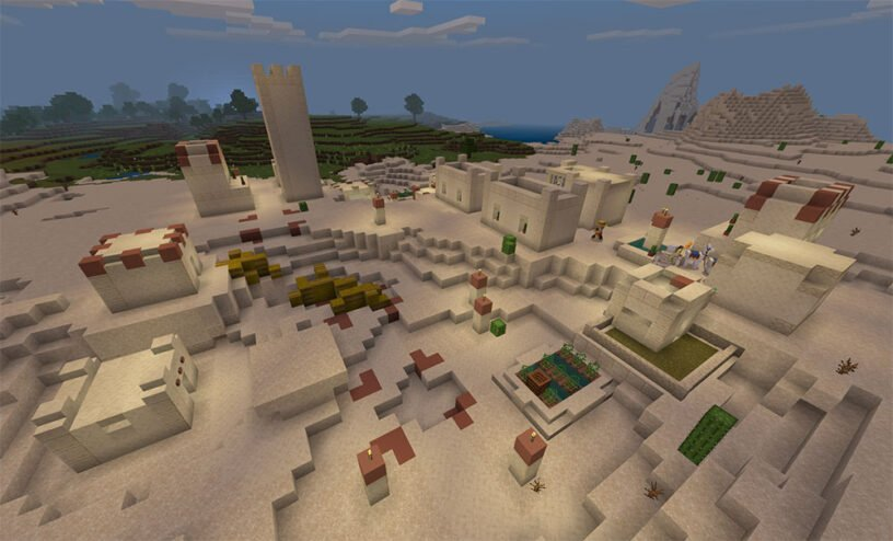 Tons of Stuff Near Spawn Seed Image